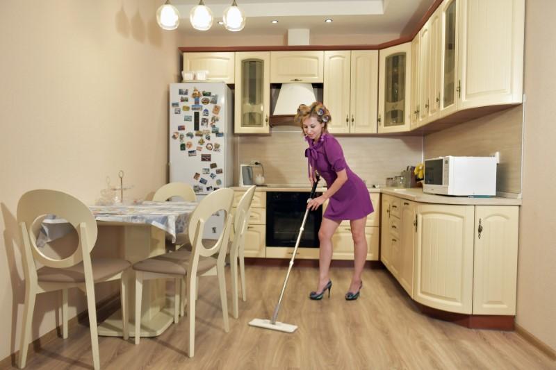 Čiščenje stanovanja - kuhinja
